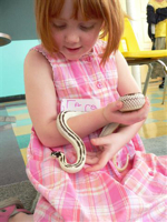 Grace with Snake