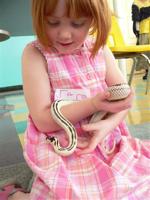 Grace with Snake