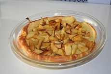 Dutch Baked Apple Pancake - kid o info