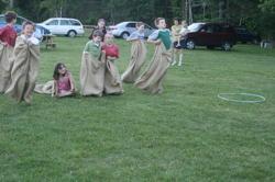 Sack Races at Goddard State Park - kid o info
