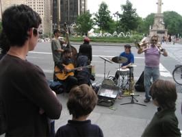 Street Musicians: kid o info