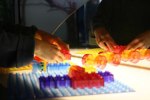 Light Table Legos
