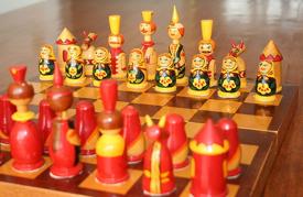 Russian Chess Set