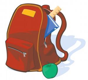 Backpack - register for school