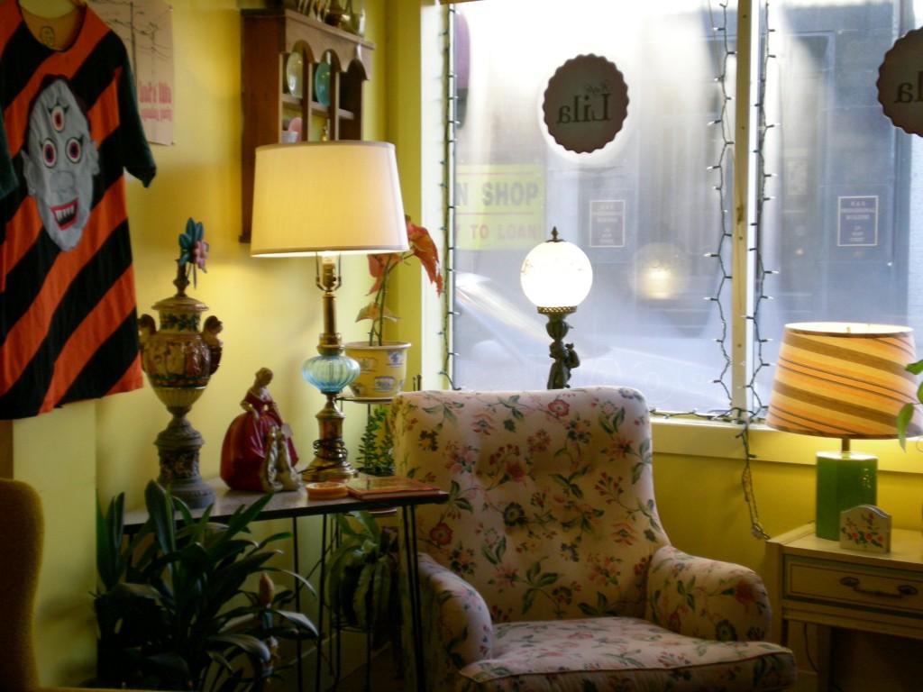 Inside Cafe Lila
