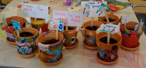 decoupage-flower-pot