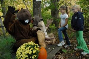 Audubon Halloween Hike 2009