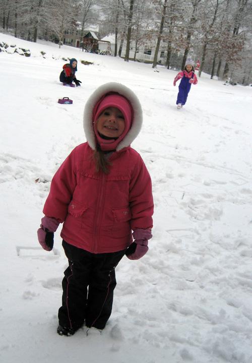 Winter-playtime
