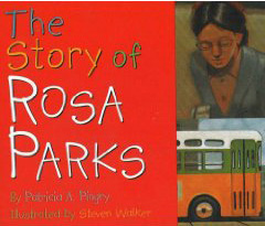 The Story of Rosa Parks Book cover