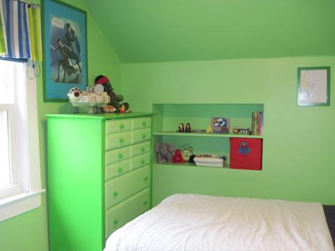 Bedroom Makeover-Green Side
