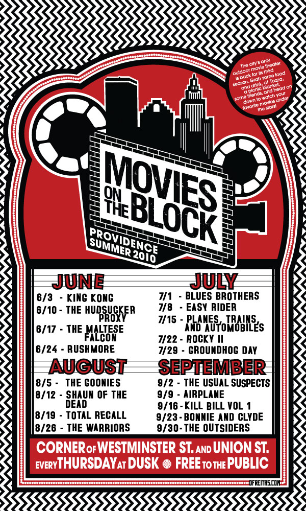 Date Night Out: Movies on the Block