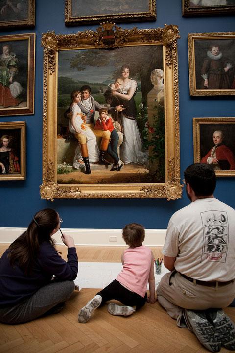 RISD Main-gallery-family