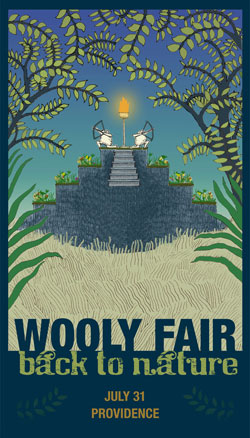 The first half of Wooly Fair has cool things for kids!