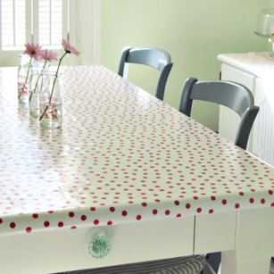 You really can do it yourself: Revamp and relax with oilcloth