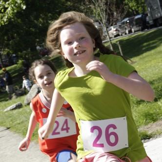 Girls on the Run race