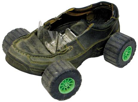 Shoe car toy