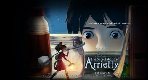 The-Secret-World-Of-Arrietty movie poster
