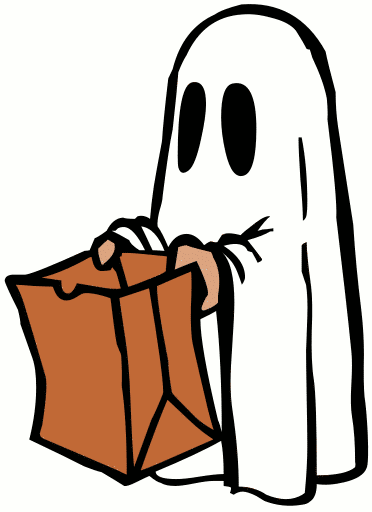 Ghost with Bag