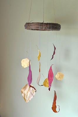 leaf-mobile
