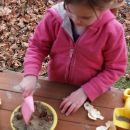 Parenting Simply: Pinecone Soup