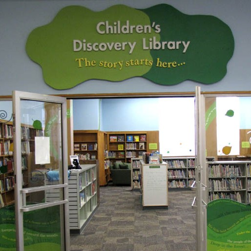 Children Disccovery Library Entrance