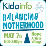 Kidoinfo Balancing Motherhood event