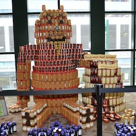Canstruction® RI now on view at Providence Place Mall benefits the Rhode Island Community Food Bank