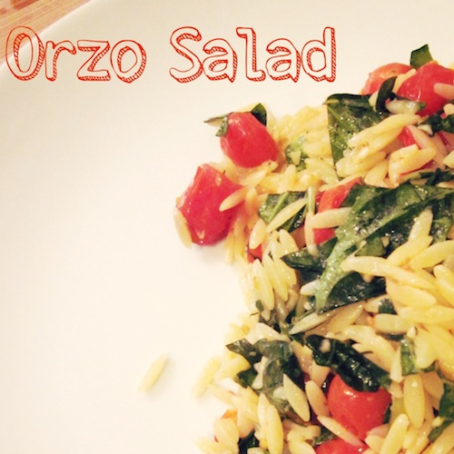 Lunchbox Love: Make Orzo Salad with the kids