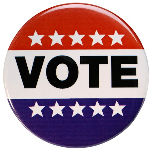 Take your kids to vote today!