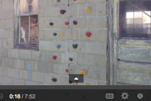 Urban Ingenuity: How to build a climbing wall on cinder block