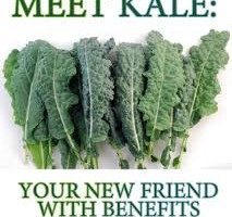 Dark, leafy and fabulous!  How I learned to love Kale!