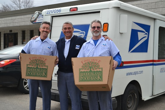 Letter Carriers Stamp Out Hunger