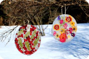 Winter Fun: Make an Icy Suncatcher