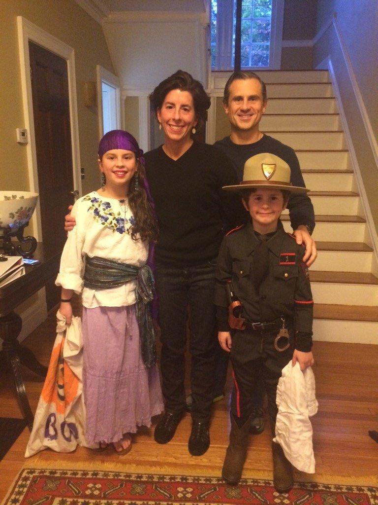 Governor Gina Raimondo shares Halloween Traditions with Kidoinfo