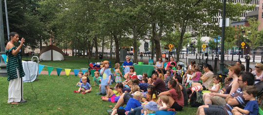 Kidoinfo Storytime + Art in the Park 2017 Schedule