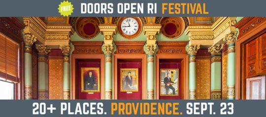Doors Open Rhode Island Festival Shares Keys to Providence Treasures