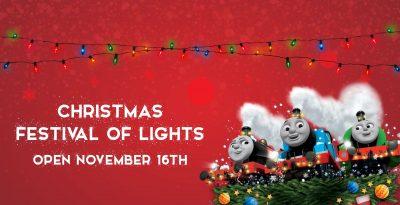 Christmas Festival of Lights @ Edaville Family Theme Park