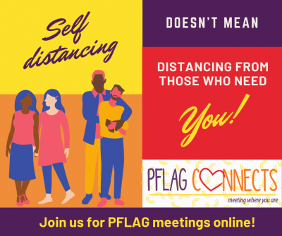 PFLAG of Greater Providence monthly support group (virtual) @ The Met School | Providence | Rhode Island | United States