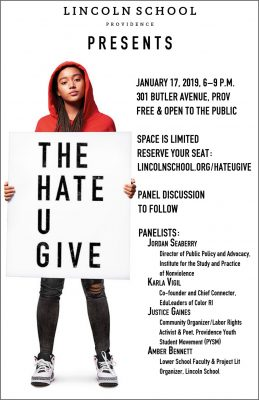 The Hate U Give Movie Screening @ Lincoln School