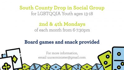 Social Group for Youth Ages 13-18 @ UUCSC