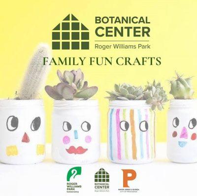 Family Fun Craft Day! @ Roger Williams Park Botanical Center