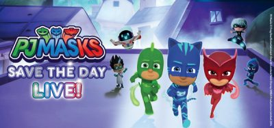 PJ Masks Live! Save The Day @ The Vets
