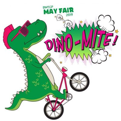 "Barbara M. Tufts Cooperative Preschool ""May Fair"" Fundraiser tradition continues with a Dino-Mite Theme! @ Academy Field/Swift Gym"