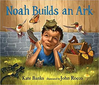 Author John Rocco Storytime & Book Signing for Noah Builds an Ark @ Barrington Books Garden City