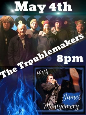 The Troublemakers with James Montgomery @ Courthouse Center for the Arts