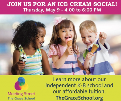 Here's the Scoop: The Grace School Hosts Ice Cream Social @ Meeting Street