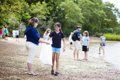 Beach Clean-Up hosted by Mystic Aquarium @ Bluff Point State Park