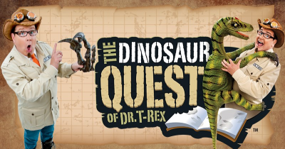 The Dinosaur Quest of Dr. T-Rex @ Stadium Theater Performing Arts Center