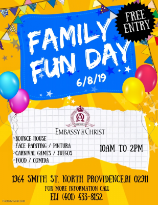 Family Fun Day @ Embassy of Christ