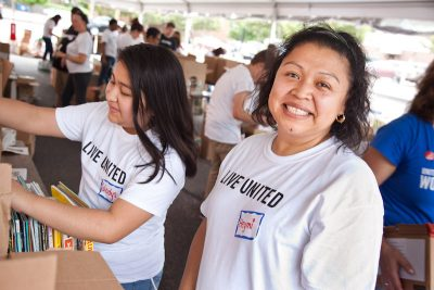 United Way Family Volunteer Opportunity -- Annual Day of Action @ United Way of Rhode island